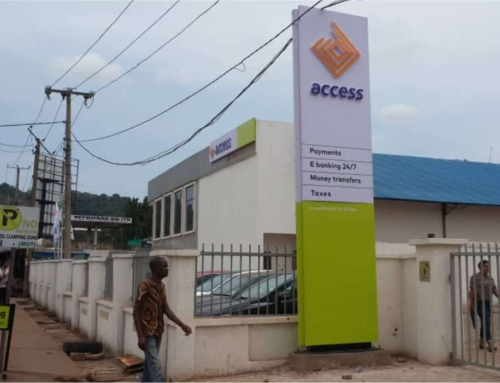 Access bank Pylon and facial sign