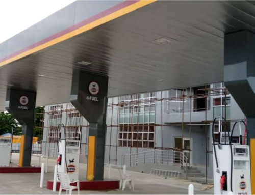 MRS Victoria island full gas station branding