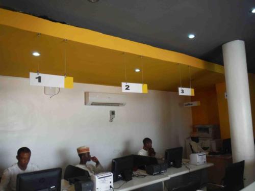 MTN customer service area branding