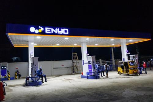 ENYO retail station Canopy sign003