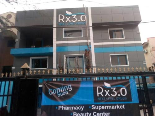 RX3.0 NEXT LEVEL DRUGS WALL SIGN