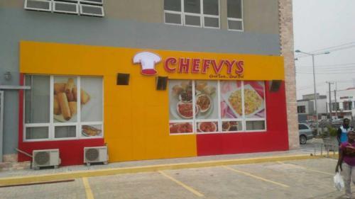 Chefvys Sign