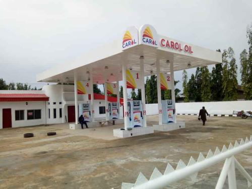 carol oil  signage by sylma sign